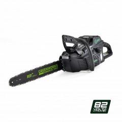 Аккумуляторная пила GreenWorks GС82CS50, 82V, 46см, 1.3-3/8-62зв бесщеточная, без АКБ и ЗУ