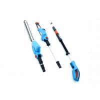 Высоторез Gardena TCS Li 18/20 + штанговые ножницы THS Li 18/42+аккумулятор