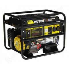 Генератор Huter DY 6500 LX бенз, электростартер